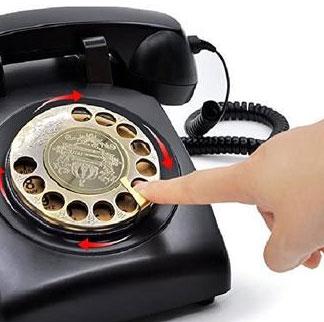 RotaryTelephone Dial 04