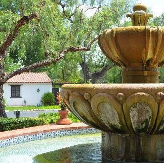 The Mission Fountain